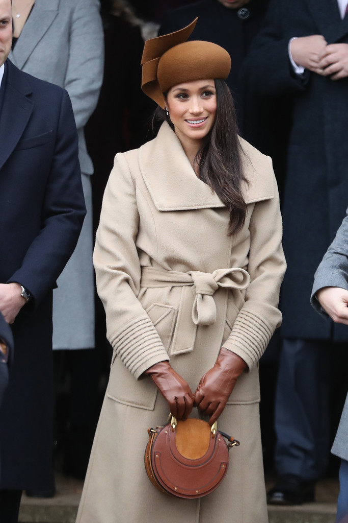 Meghan Markle Leather Gloves Fashion Lookbook Stylebistro