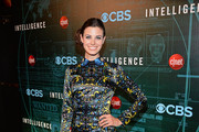 Meghan Ory Print Dress