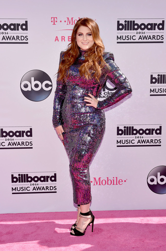 Meghan Trainor Sequin Dress - Newest Looks - StyleBistro