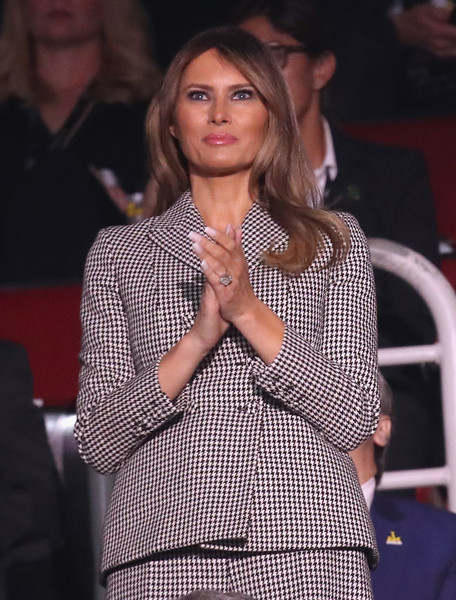 Melania Trump French Manicure