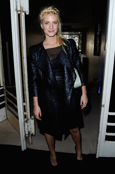 Melanie Laurent Wool Coat