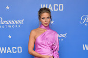 Melissa Benoist One Shoulder Dress