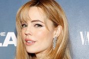 Melissa George Medium Wavy Cut with Bangs