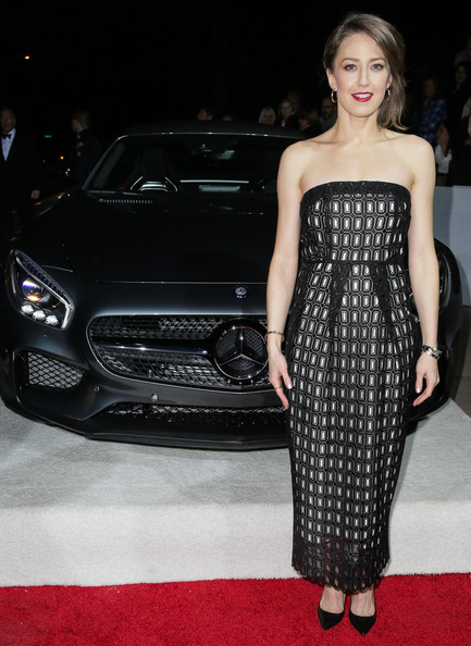 More Pics of Carrie Coon Short Side Part (1 of 10) - Carrie Coon Lookbook - StyleBistro [hair,auto show,clothing,dress,automotive design,fashion,beauty,vehicle,model,hairstyle,mercedes-benz arrivals,carrie coon,palm springs,california,mercedes-benz,palm springs internatonal film festival,palm springs international film festival awards gala]