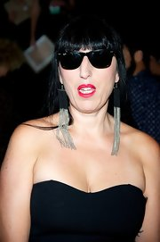 Rossy sported some ultra-cool shades during Madrid Fashion Week 2013.