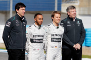 Ross Brawn and Toto Wolff Photo