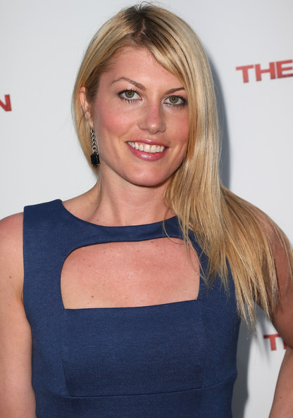 Meredith Ostrom Long Straight Cut [hair,blond,hairstyle,shoulder,long hair,brown hair,premiere,layered hair,neck,smile,arrivals,the iceman,meredith ostrom,screening,arclight hollywood,los angeles,california,millennium entertainment,premiere]