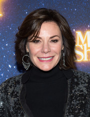 LuAnn de Lesseps styled her hair into a feathery bob for the Broadway opening of 'Meteor Shower.'