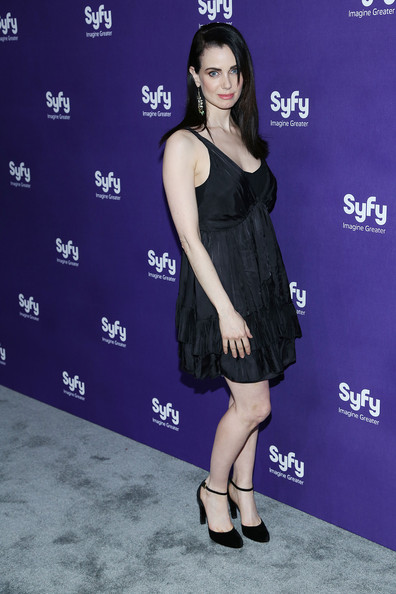 Mia Kirshner Little Black Dress