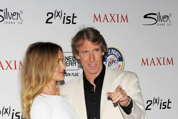 Michael Bay Rosie Huntington-Whiteley 2011 Maxim Hot 100 Party With New Era, Miller Lite, 2(x)ist And Silver Jeans Co. - Arrivals