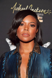 Gabrielle Union wore her hair in a cute bob during Michael Jackson's diamond birthday celebration.