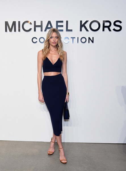 Martha Hunt at Michael Kors Collection