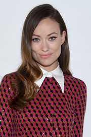 Olivia Wilde flaunted a perfectly styled wavy 'do at the Michael Kors fashion show.