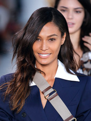 Joan Smalls looked lovely with her long waves while walking the Michael Kors runway.