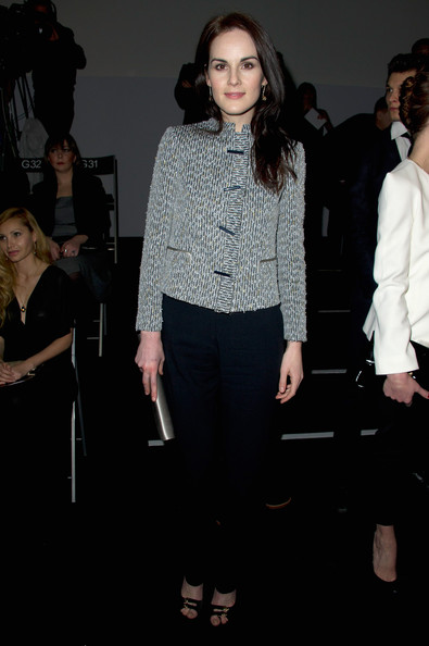 Michelle Dockery Cropped Jacket
