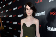 Michelle Dockery Print Dress