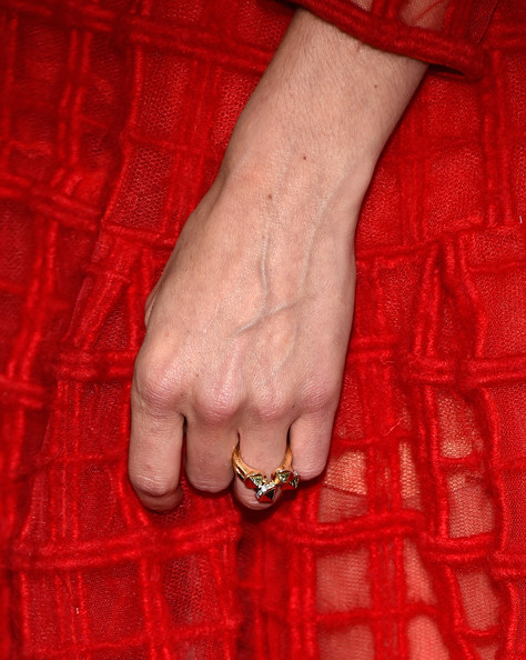Michelle Monaghan Gold Ring