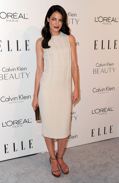 Michelle Monaghan Platform Sandals [elle,17th annual women in hollywood tribute,beverly hills,california,the four seasons hotel,17th annual women in hollywood tribute - arrivals,michelle monaghan]