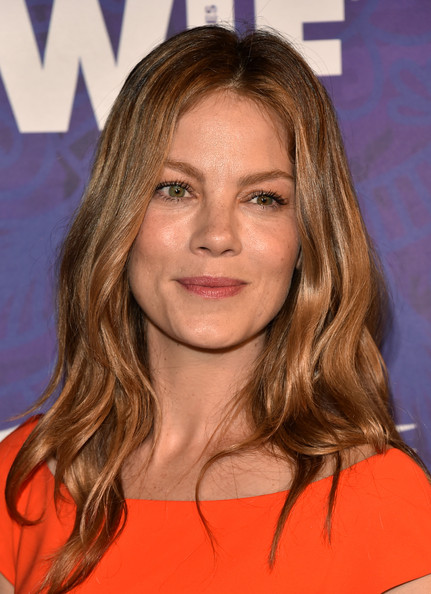 Michelle Monaghan Long Wavy Cut [variety and women in film emmy nominee celebration,hair,face,hairstyle,blond,eyebrow,chin,brown hair,long hair,layered hair,hair coloring,michelle monaghan,arrivals,west hollywood,california,variety and women in film emmy nominee celebration,samsung galaxy]