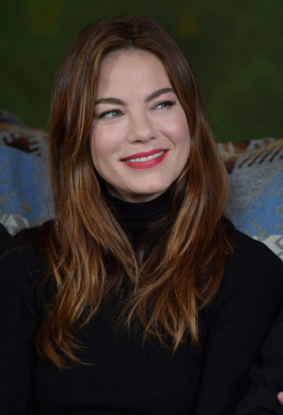 Michelle Monaghan Red Lipstick [the vulture spot,hair,face,lip,hairstyle,beauty,blond,long hair,brown hair,smile,eyebrow,michelle monaghan,vulture spot,park city,utah,tidal at rock reilly]