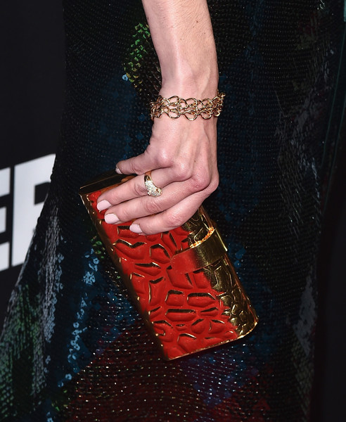 Michelle Monaghan Neutral Nail Polish [sleepless,premiere of open road films,red,fashion,nail,arm,fashion accessory,lip,neck,jewellery,joint,hand,arrivals,michelle monaghan,purse detail,california,los angeles,regal la live stadium,open road films,premiere]