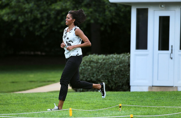 Michelle Obama Canvas Sneakers