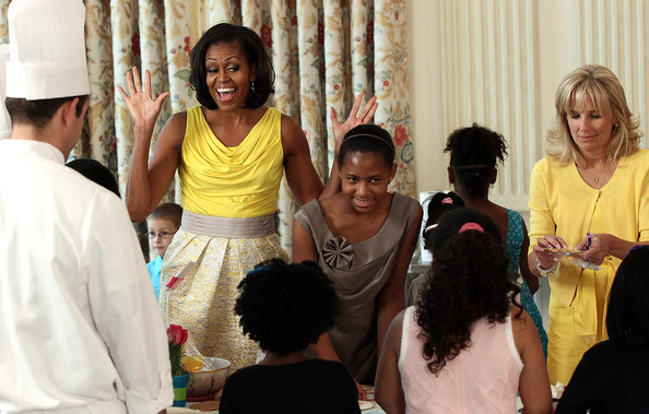 Michelle Obama And Jill Biden Honor Military Mothers At The White House