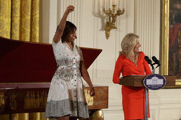 Michelle Obama Jill Biden Michelle Obama Hosts a Mother's Day Tea