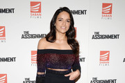 Michelle Rodriguez High-Waisted Pants