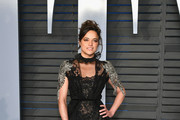 Michelle Rodriguez Sheer Dress