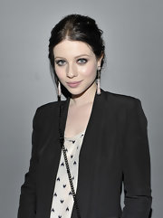 Michelle Trachtenberg wore a pair of rose teardrop earrings at the grand opening of LOLA.