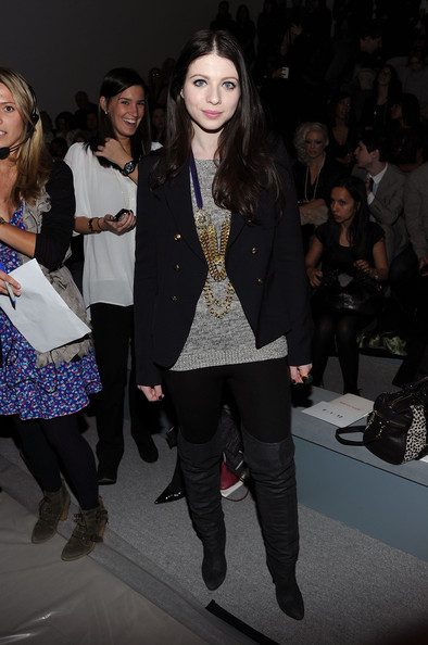 Michelle Trachtenberg Over the Knee Boots