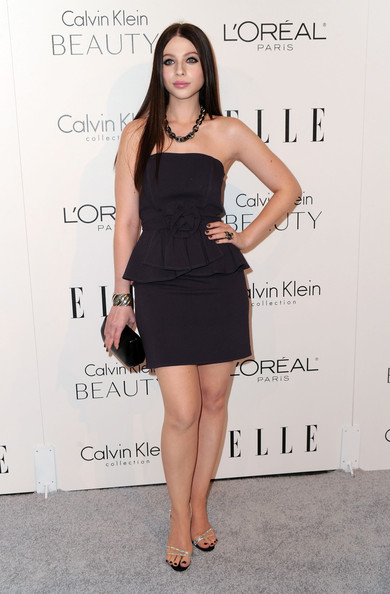 Michelle Trachtenberg Strapless Dress
