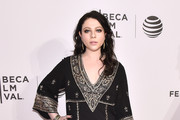 Michelle Trachtenberg Embroidered Dress