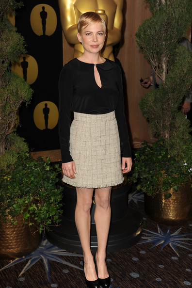 Michelle Williams Mini Skirt