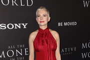 Michelle Williams Halter Dress