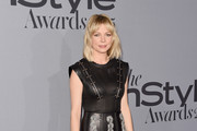 Michelle Williams Leather Dress