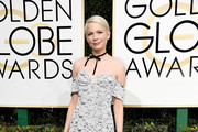 Michelle Williams Off-the-Shoulder Dress