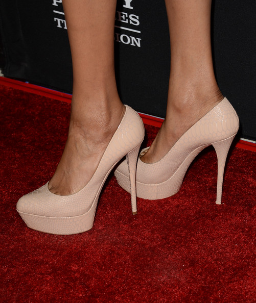 Michelle Williams (singer) Platform Pumps