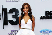 Michelle Williams (singer) Strapless Dress