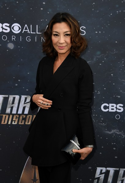 Michelle Yeoh Hard Case Clutch