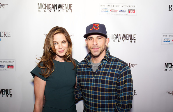More Pics of Michelle Monaghan Envelope Clutch  (5 of 24) - Clutches Lookbook - StyleBistro [michelle monaghan,billy dec,fun,headgear,font,photography,cap,fashion accessory,t-shirt,style,brand,michigan avenue magazine winter issue release celebration,chicago,illinois]