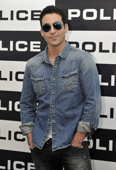Miguel Angel Silvestre Denim Shirt