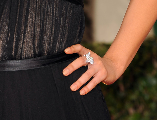 Mila Kunis Statement Ring