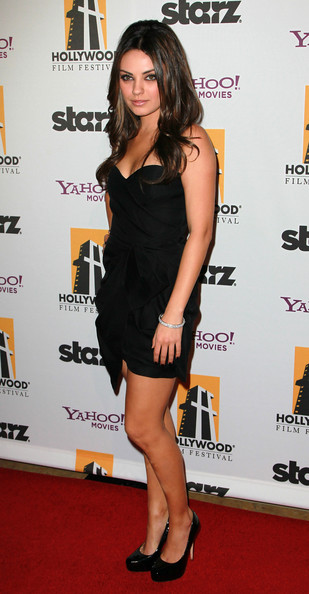 Mila Kunis Evening Pumps