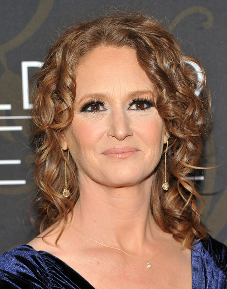 More Pics of Melissa Leo Evening Dress (1 of 8) - Dresses & Skirts Lookbook - StyleBistro [mildred pierce,hair,face,hairstyle,eyebrow,chin,ringlet,blond,brown hair,layered hair,lip,melissa leo,new york,ziegfeld theatre,premiere,premiere]