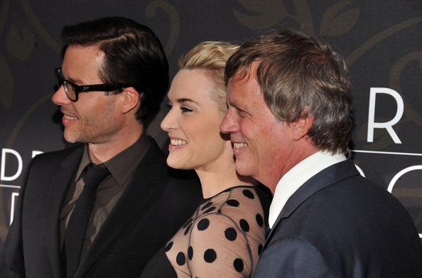 More Pics of Kate Winslet French Twist (1 of 28) - Updos Lookbook - StyleBistro [mildred pierce,event,premiere,todd haynes,actors,kate winslet,guy pearce,l-r,new york,ziegfeld theatre,premiere,premiere]