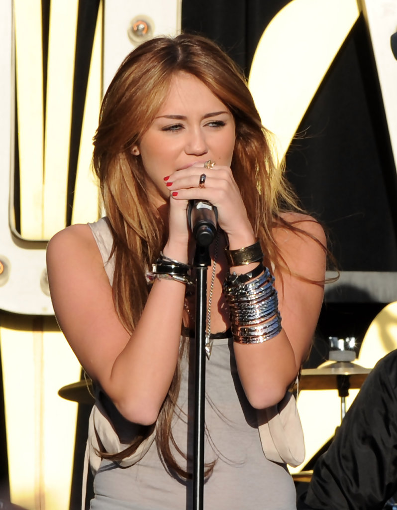 Miley Cyrus Bangle Bracelet - Miley Cyrus Looks - StyleBistro