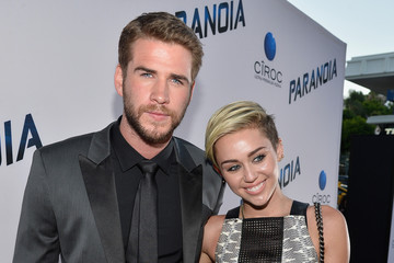 Miley Cyrus Liam Hemsworth 'Paranoia' Premieres in LA — Part 2