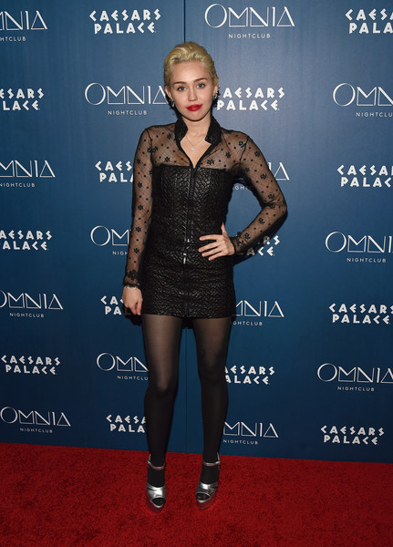Miley Cyrus Tights